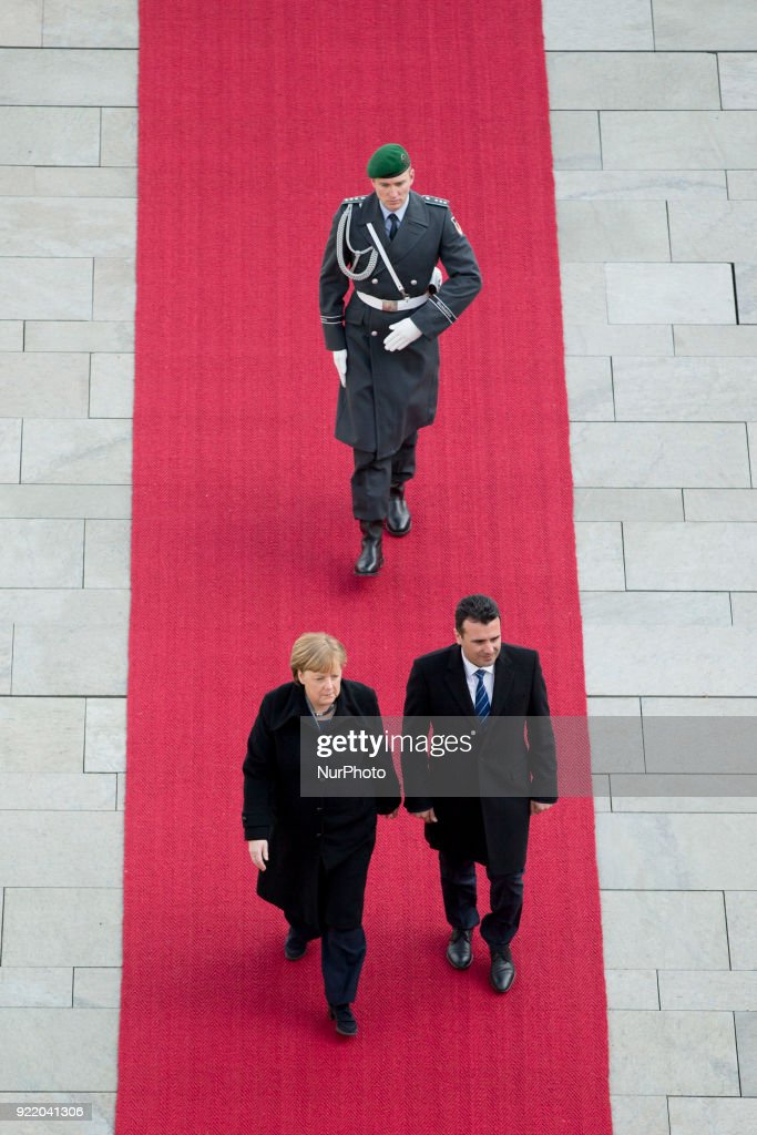 Angela Merkel meets Prime Minister of Macedonia