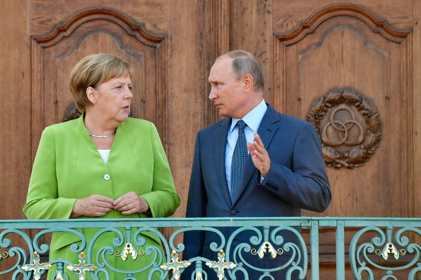 "Image result for PUTIN - MERKEL, ""August 18, 2018"""