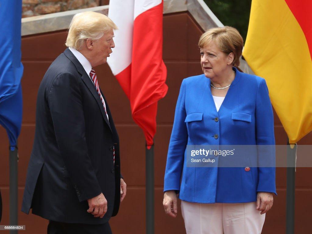 G7 Leaders Meet In Sicily : News Photo