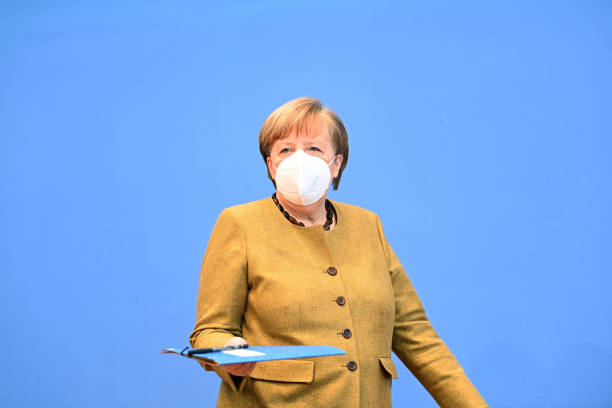 DEU: Merkel Speaks About Current Pandemic Situation