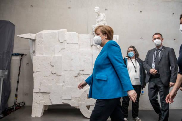 DEU: Angela Merkel Testifies At Wirecard Commission