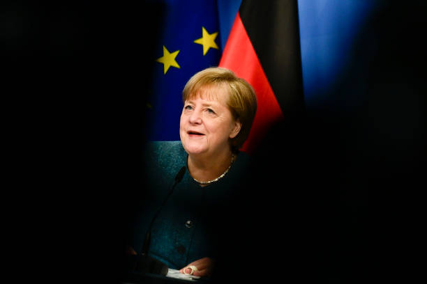 DEU: Merkel Hosts Virtual Podium Discussion During Youth Politics Days