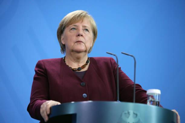 DEU: Merkel Meets With Xavier Bettel In Berlin