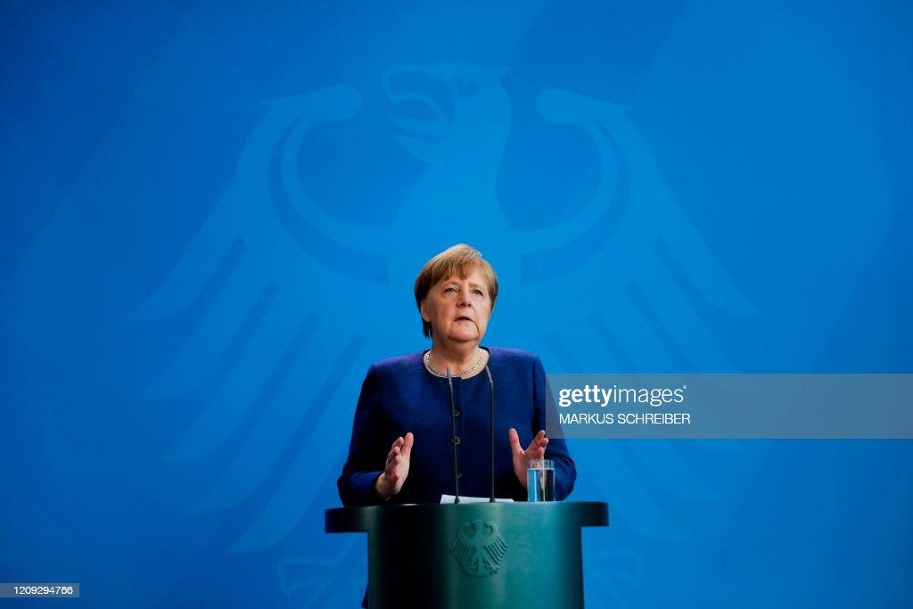 GERMANY-HEALTH-VIRUS-POLITICS : News Photo