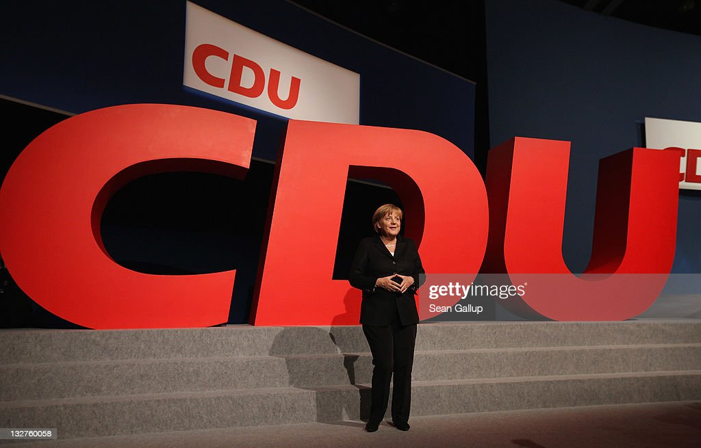 CDU Holds Federal Party Congress : News Photo