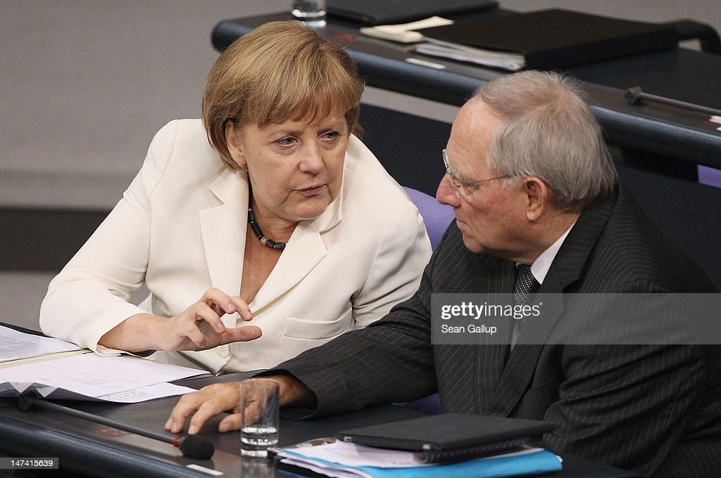 Bundestag Votes On ESM And Fiscal Pact