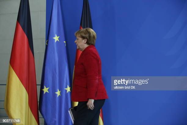 German Chancellor Angela Merkel congratulates Donald Trump on his election victory as the 45th President of the USA in a brief statement at 12 noon...