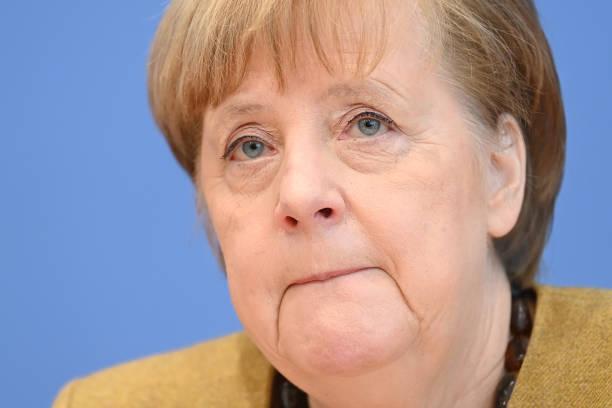 DEU: Merkel Speaks About Current Pandemic Situation