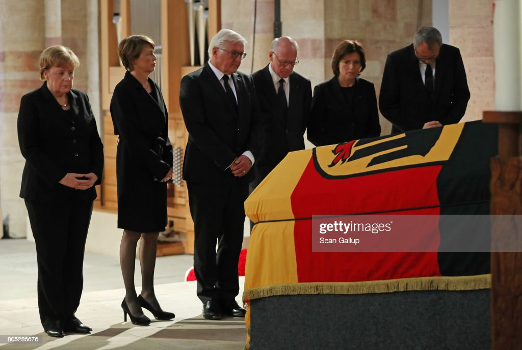 Speyer Holds Requiem For Helmut Kohl