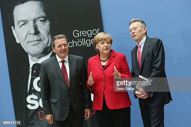 63 Gerhard Schroeder Presents Biography Photos And Premium High Res Pictures Getty Images