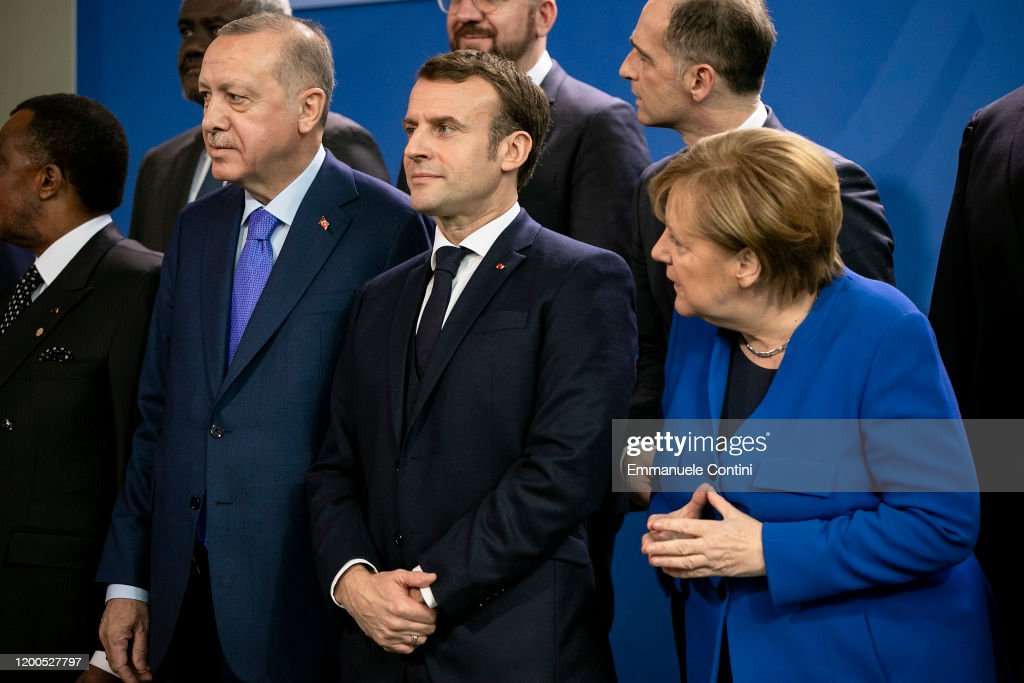 Berlin Hosts UN Libya Conference : News Photo