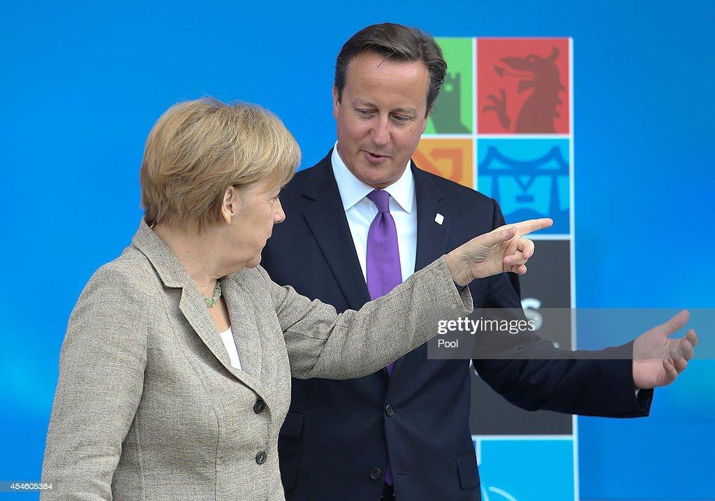 NATO Summit Wales 2014 - Day 1 : News Photo