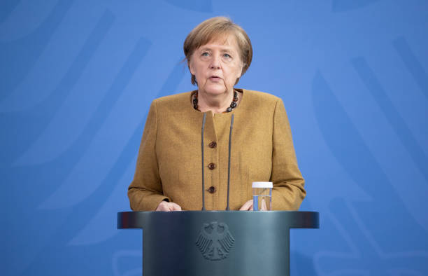 DEU: Chancellor Merkel Announces Changes To Coronavirus Measures
