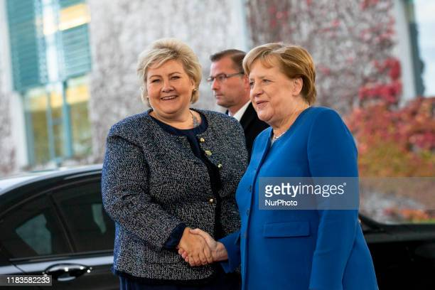 2 843 Norway Erna Solberg Photos And Premium High Res Pictures Getty Images
