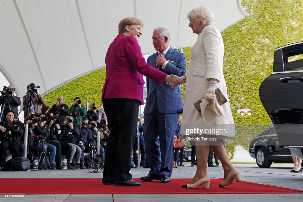 The Prince Of Wales And Duchess Of Cornwall Visit Germany - Day 1 - Berlin : News Photo