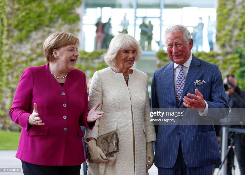 Prince Charles and Duchess of Cornwall Camilla in Berlin : News Photo
