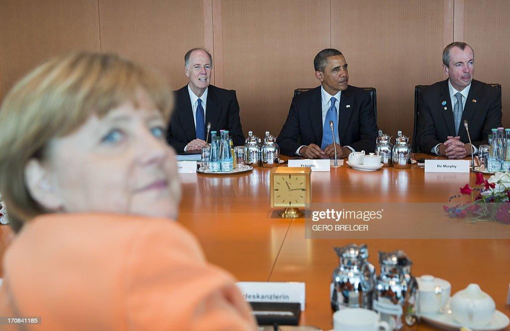 GERMANY-US-DIPLOMACY : News Photo