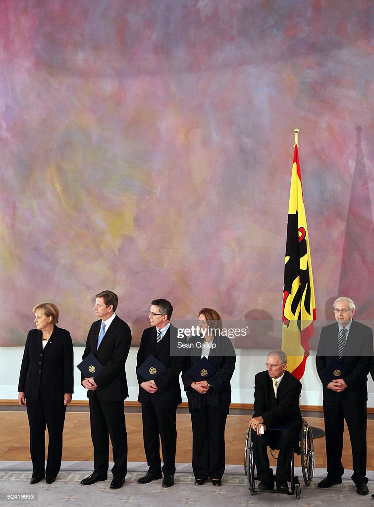 President Koehler Welcomes New German Ministers