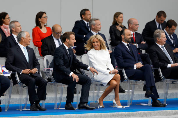 FRA: EU Leaders Join Macron For Bastille Day Military Parade In Paris