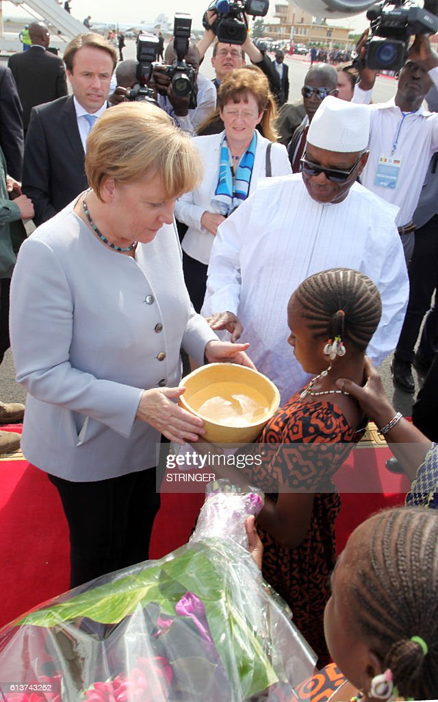 MALI-GERMANY-DIPLOMACY-EUROPE : News Photo