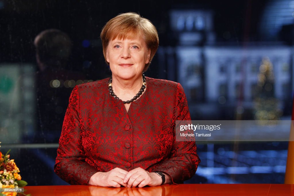 Angela Merkel Records New Year's Address