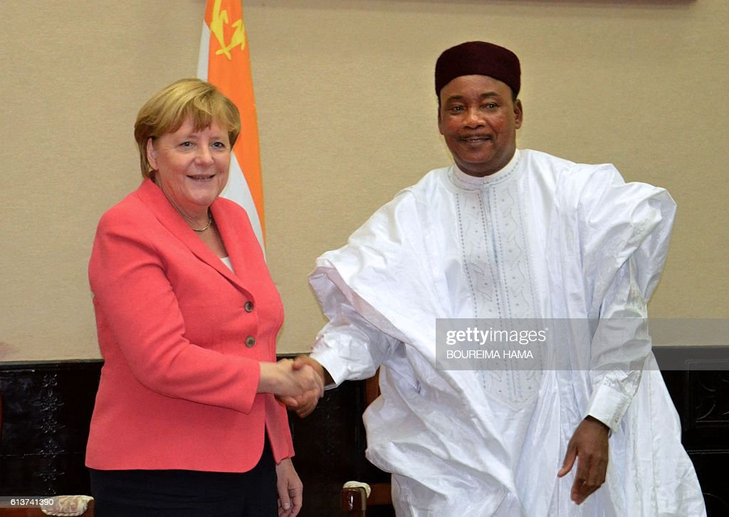 NIGER-GERMANY-DIPLOMACY-EUROPE : News Photo