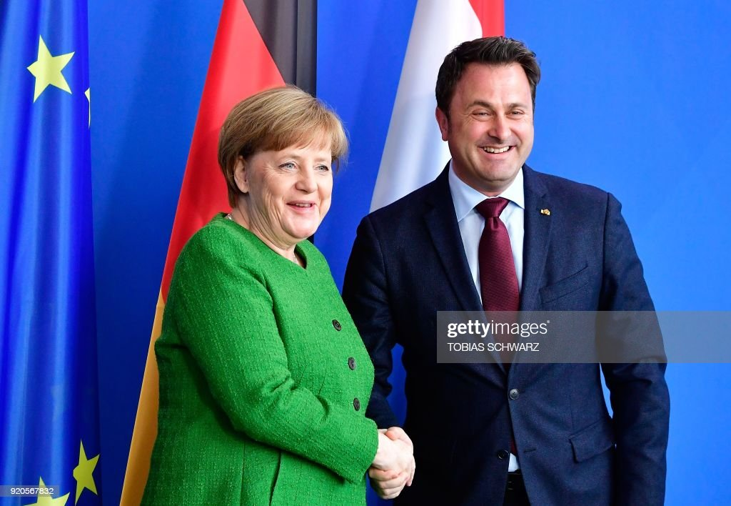 Luxembourg Prime Minister Bettel In Berlin