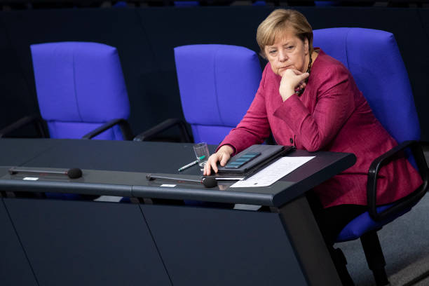 DEU: Merkel Speaks At Bundestag, Outlines Germany's Strategy To Cope With Pandemic