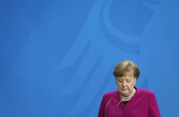 DEU: Merkel Speaks On Latest Policy Developments For Countering The Coronavirus Impact