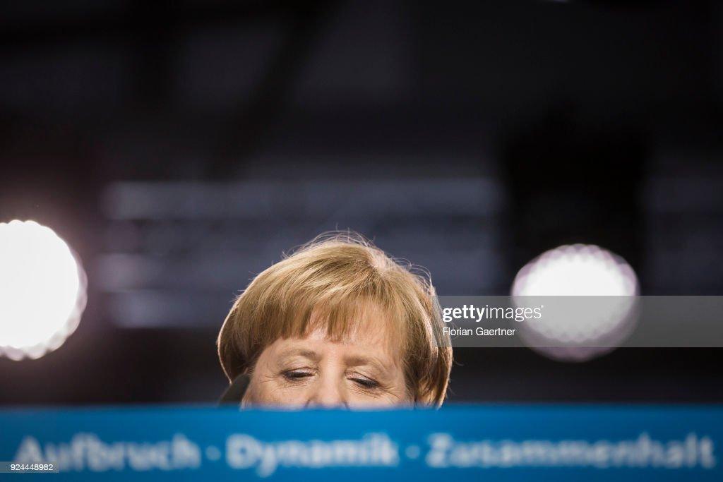 CDU Holds Party Congress : News Photo