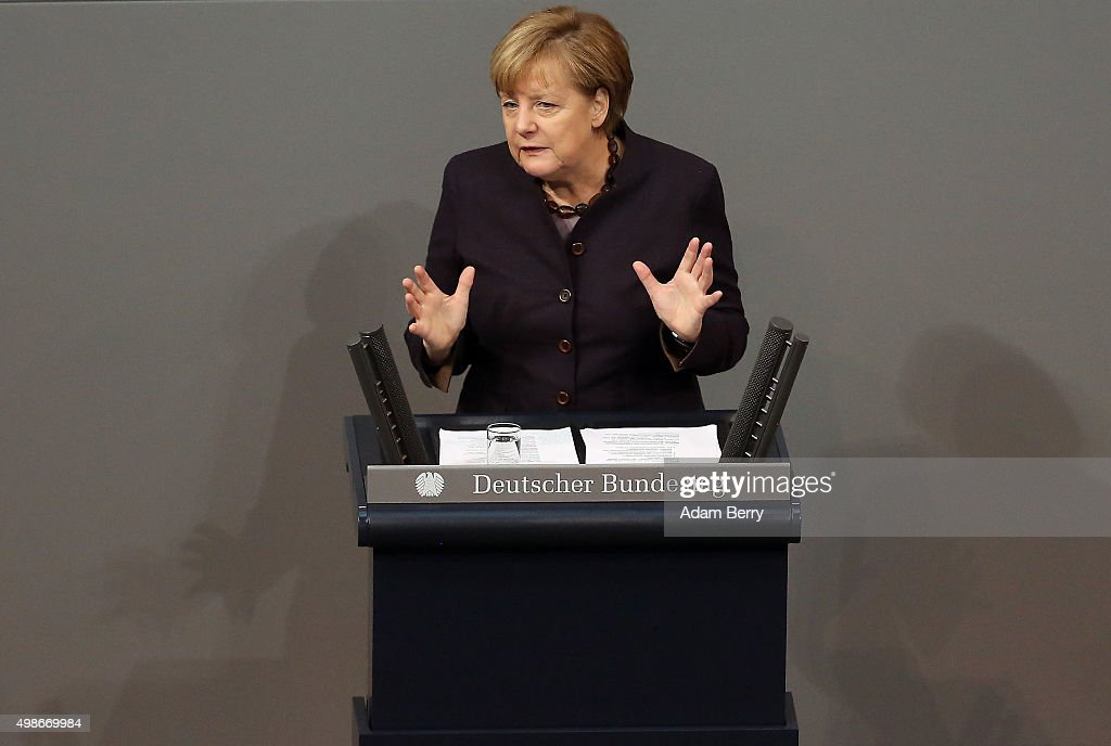 Bundestag Begins Budget Debates : News Photo