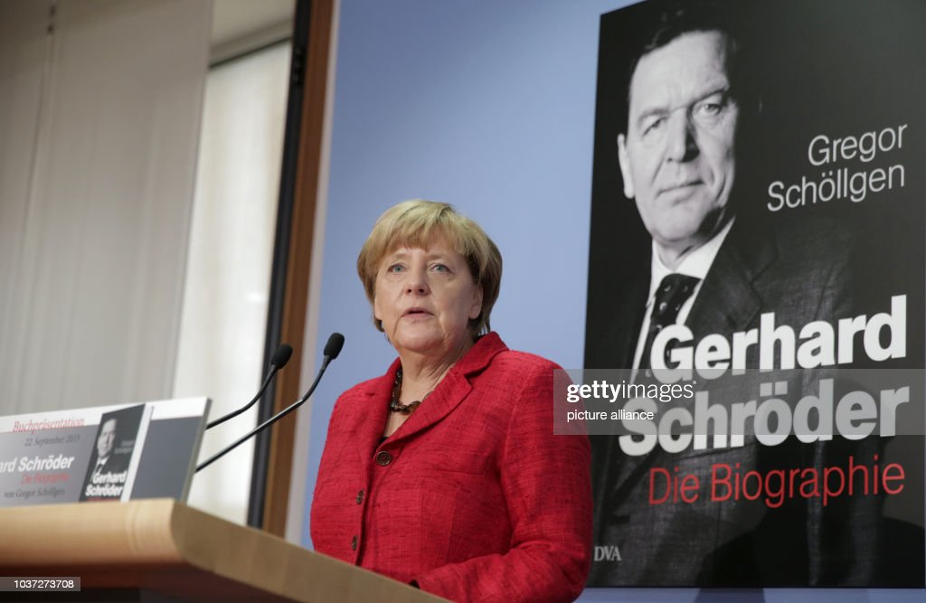 German Chancellor Angela Merkel Speaks During The Presentation Of The News Photo Getty Images