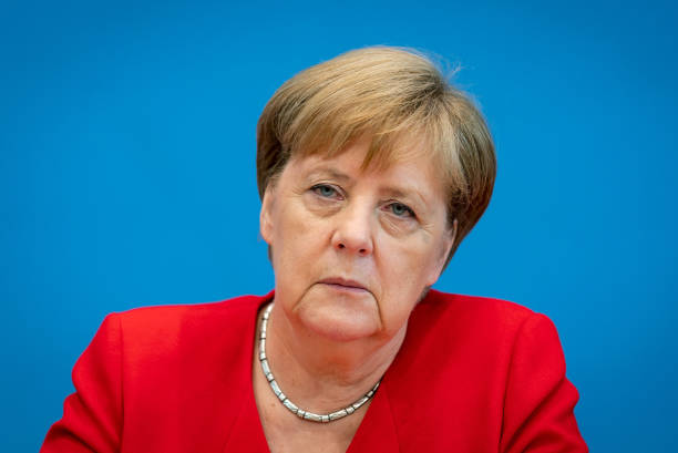 DEU: Merkel Holds Annual Press Conference