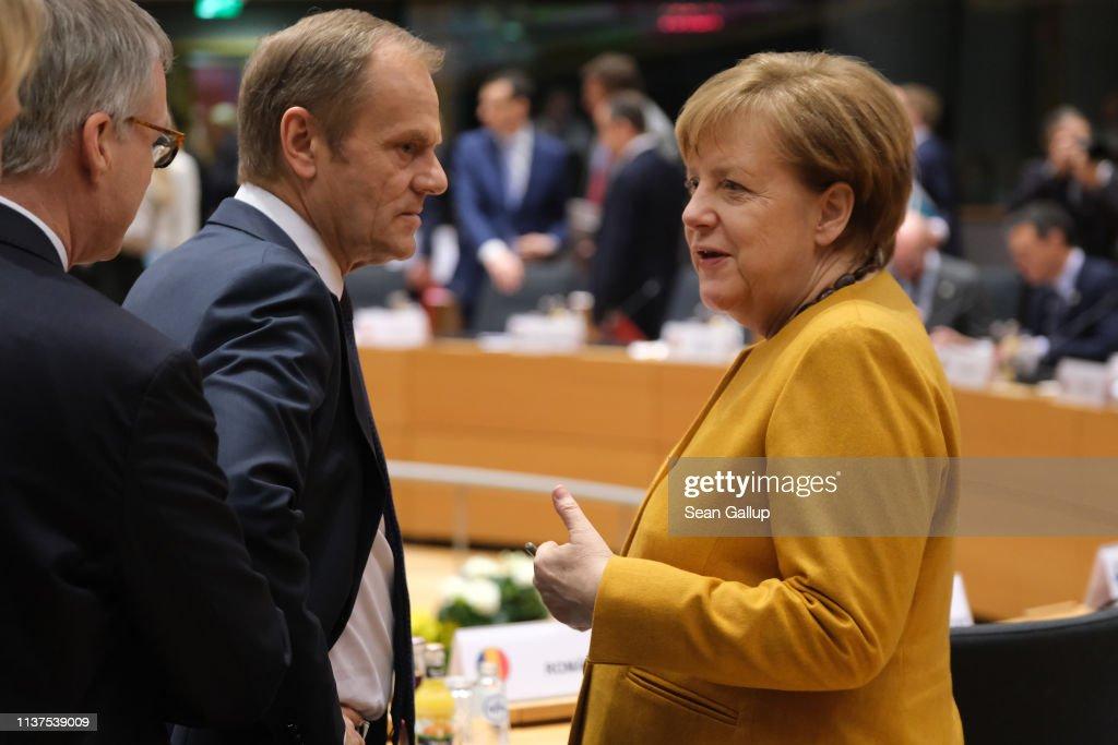 European Council Convenes As UK Seeks Brexit Delay : ニュース写真
