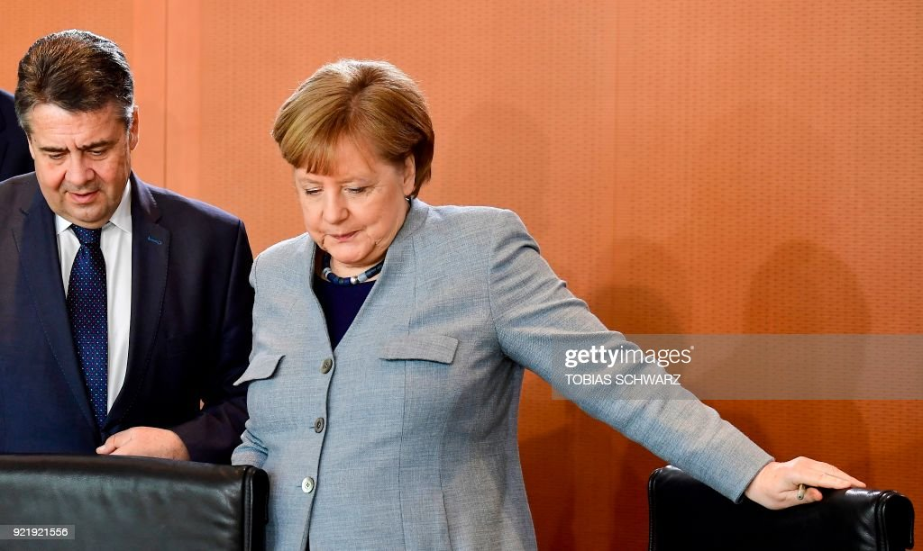 GERMANY-POLITICS-CABINET : News Photo