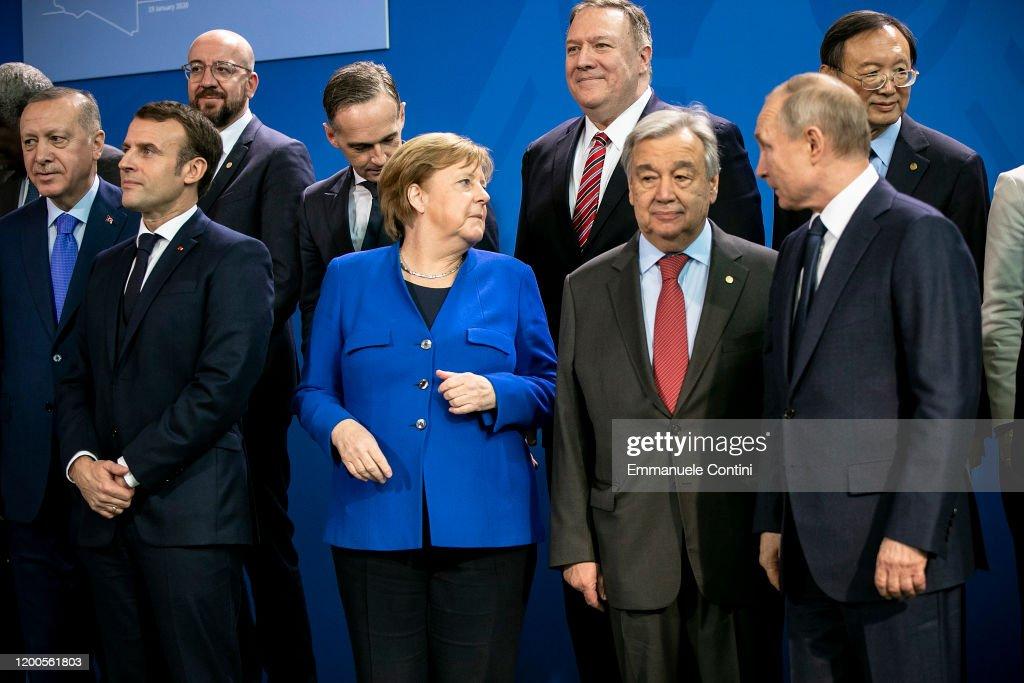 Berlin Hosts UN Libya Conference : Nieuwsfoto's