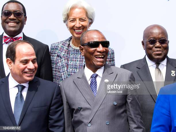 German Chancellor Angela_Merkel welcomes the participants to the G20 Africa Conference at the Euref Campus Berlin on 12 June 2017 The family photo...