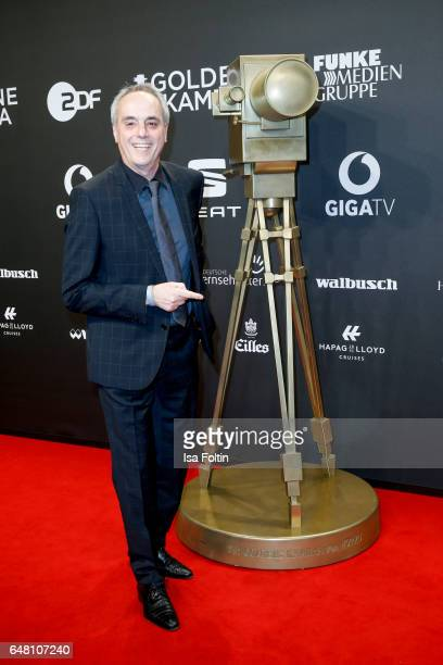 German chief Christian Rach arrives for the Goldene Kamera on March 4 2017 in Hamburg Germany