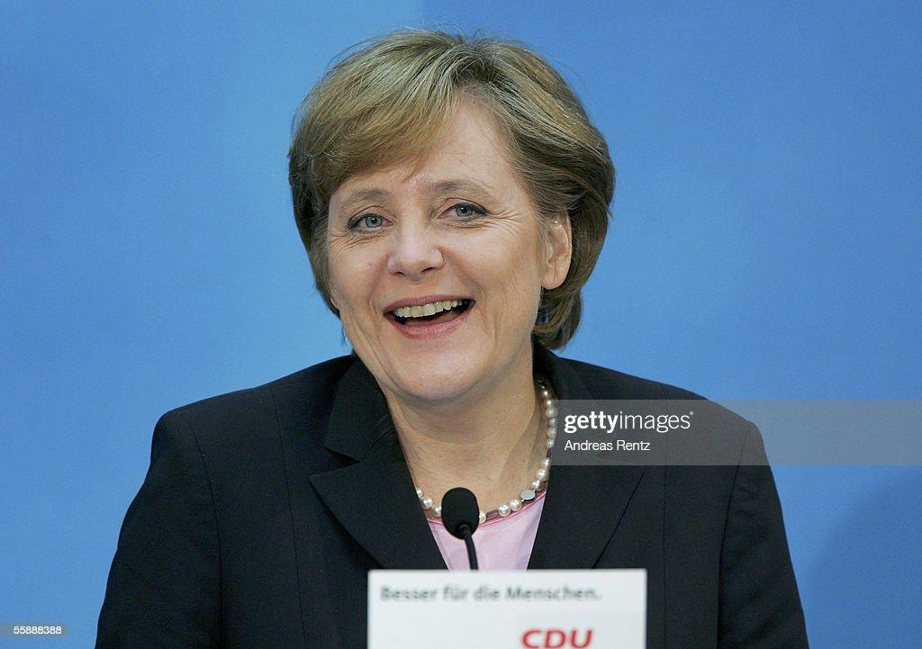 CDU And SPD Coalition Talks : ニュース写真