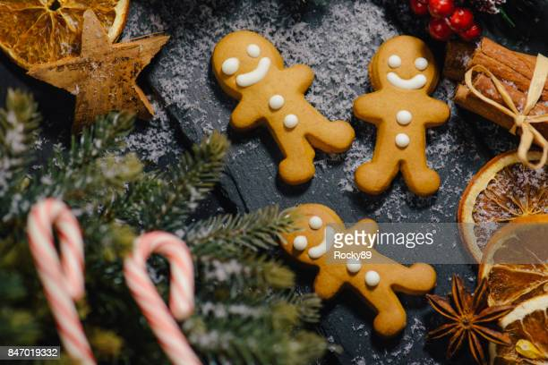 German Christmas Decoration and Backgrounds