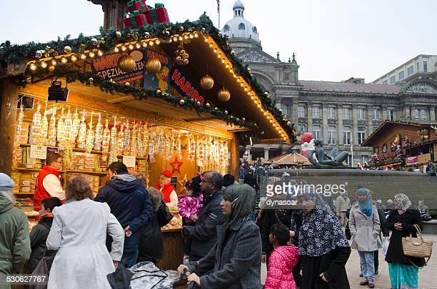 German Christmas market, Birmingham city centre