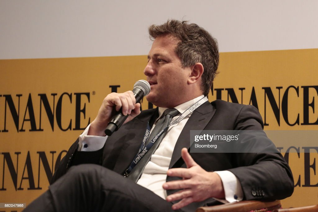German Chullmir, founder and chief executive officer of Orel Energy Group, speaks during the Argentina Sub-Sovereign and Infrastructure Finance Summit in Buenos Aires, Argentina, on Wednesday, Nov. 29, 2017. The event will join Argentina's provincial and municipal leaders together with regional and international investors, infrastructure developers, financiers and advisers to discuss sub-sovereign financial and investment strategies and explore what needs to be done to efficiently put capital to work in new infrastructure projects. Photographer: Sarah Pabst/Bloomberg via Getty Images