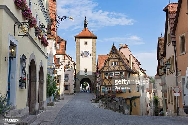 German city of Rothenburg o.d. Tauber