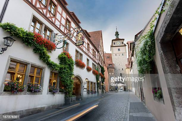 German city Rothenburg o.d. Tauber