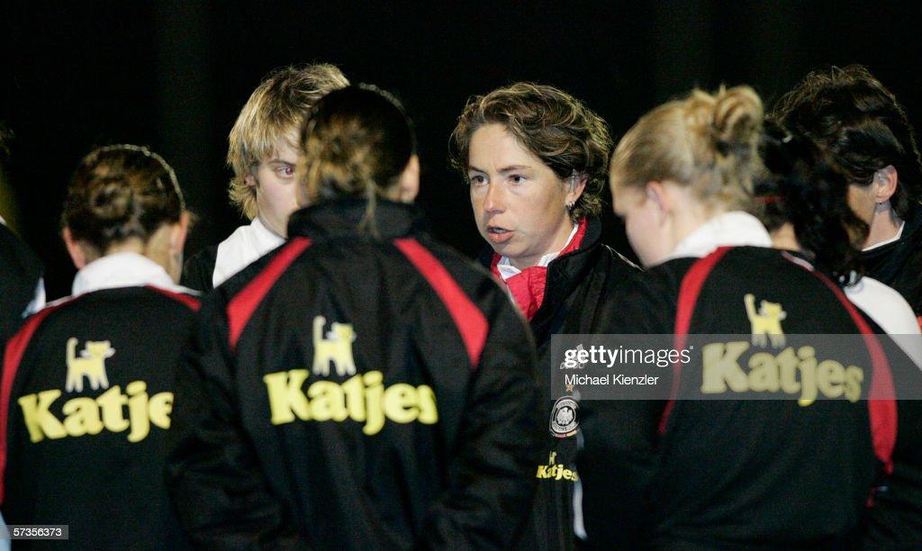 Women?s Under 19 Switzerland v Germany : News Photo