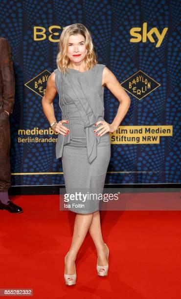 German comedian Anke Engelke attends the 'Babylon Berlin' Premiere at Berlin Ensemble on September 28 2017 in Berlin Germany