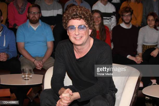German comedian Atze Schroeder during Markus Lanz TV Show on February 5 2020 in Hamburg Germany