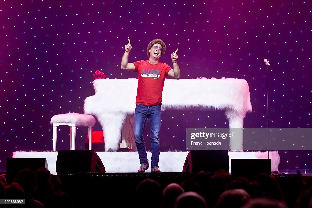 German Comedian Atze Schroeder performs live at the