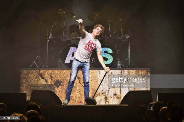 German comedian Atze Schroeder performs live during his show at the Tempodrom on January 20 2018 in Berlin Germany