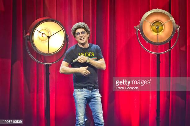 German comedian Atze Schroeder performs live on stage at the Tempodrom on February 16, 2020 in Berlin, Germany.
